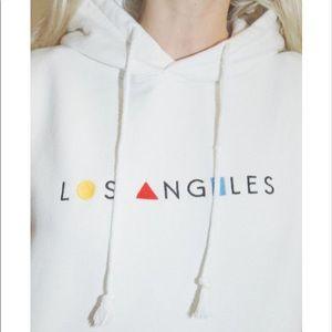 Brandy Melville Los Angeles hoodie